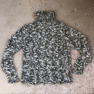 Vintage CC Hughes knitted turtleneck sweater